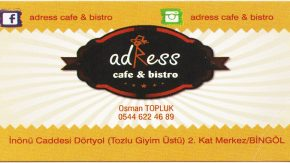 ADRESS CAFE VE BİSTRO
