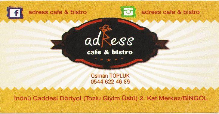 ADRESS CAFE VE BİSTRO