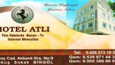 BİNGÖL HOTEL ATLI