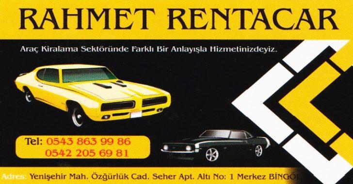 RAHMET RENT A CAR