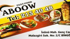 BİNGÖL ABOWW FAST FOOD