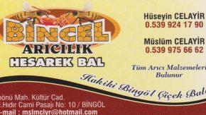 BİNCEL ARICILIK HESAREK BAL