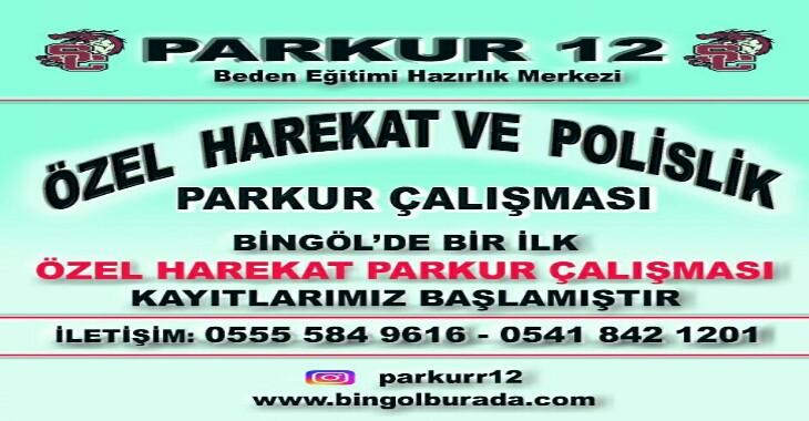 Bingöl Parkur 12